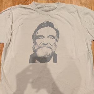 Robin Williams portrait shirt
